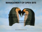 Biomechanics of open bite correctio...