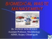 Biomedical waste managment  rule 2011