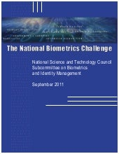 The National Biometrics Challenge (...