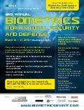 3rd Annual Biometrics for National Security and Defense