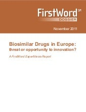 Biosimilar drugs in europe   threat...