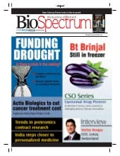 Bio tech funding in India