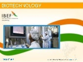India : Biotechnology Sector Report...