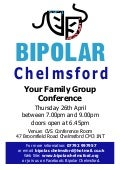Bipolar chelmsford poster  family group conference_final