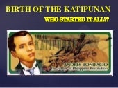 Birth and death of the katipunan (s...