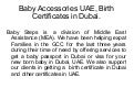 Birth Certificates In Dubai