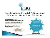 BISG WEBCAST -- Identification & Di...
