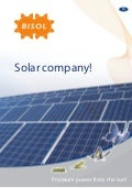 Corporate Brochure - BISOL Solar Company
