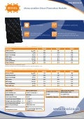 BISOL Monocrystalline Silicon PV Modules-Datasheet