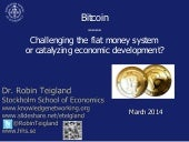 Overview of Bitcoin - Sweden