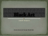 Black Art (English Literature) -ZK