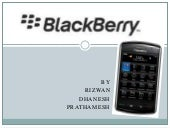 Blackberry-Marketing Strategy
