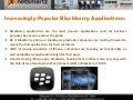 Increasingly Popular Blackberry Application Design and Blackberry Development on Mac