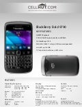 BlackBerry Bold 9790 Black (Unlocked Quadband) GSM Cell Phone