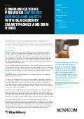Communications Provider Improves Service and Safety with BlackBerry and BBM