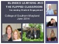 Blended learning and flipped classroom in nursing 2014