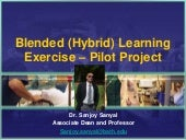 Blended Learning Exercise - Auditory Pathway - Sanjoy Sanyal