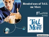 Blended uses of EduTec Language sol...