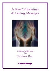 Blessings book for Wayne Dyer