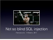 Not so blind SQL Injection