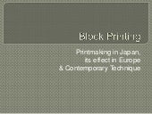 Blockprinting Powerpoint