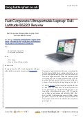 Blog.batteryfast.co.uk fast-corporate-ultraportable-laptop-dell-latitude-e6220-review
