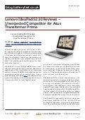 Blog.batteryfast.co.uk lenovo-ideapad-s2-10-reviews-unexpected-competitor-for-asus-transformer-prime
