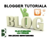 Blogger tutoriala 2012