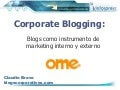 Blogging for viral marketing