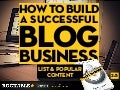 How to Build a Successful Blog Business - Lists and Popular Content