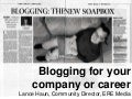 Blogging 101 For Your Company or Career