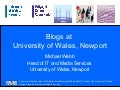 Blogs at University of Wales, Newport