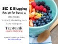Blogging Recipe for Success with Social Media & SEO
