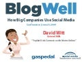 BlogWell San Francisco Social Media Case Study: General Mills, presented by