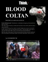 Blood Coltan-Text, Images and the D...