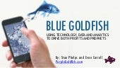 Blue Goldfish - Using Technology, Data and Analytics to Drive Both Profits and Prophets
