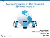 Mobile Payments in The Financial Se...