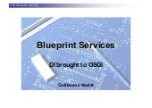 OSGi Blueprint Services