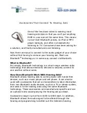 Bluetooth Hearing Aids Everett WA