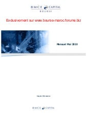 Bmce capital bourse publication de ...