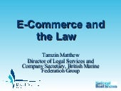 Bmf Ecommerce And Law