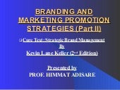 Strategic Brand Management 2