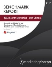 2012 Search Marketing - SEO Edition