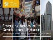 Emerging Actors in Development Fina...