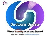 Bndtools Update - Whats Coming in v3.0.0 and Beyond - Neil Bartlett