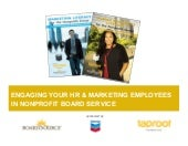 Engaging HR & Marketing Employees i...