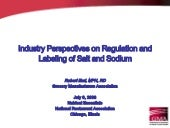 Industry Perspectives on Regulation...