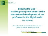 """Bridging the gap – Involving new p..."