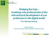 """Bridging the Gap –  Involving new ..."