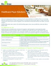 Bodhtree healthcare payer solutions